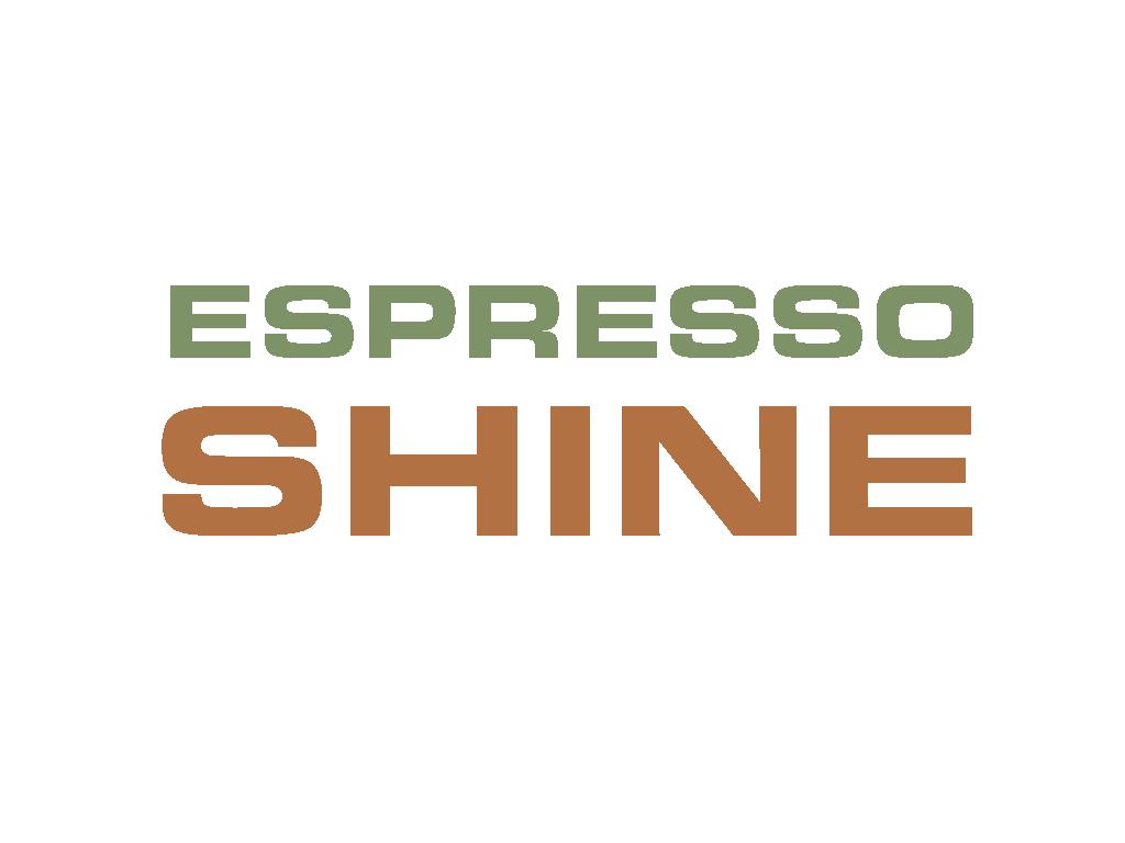 Espresso and Shine cover art text